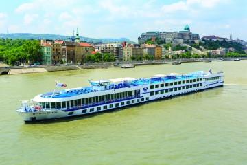 Welkom aan boord van onze luxe 4 sterren cruise schip.